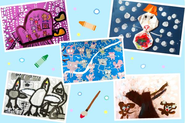 冬の絵画特集