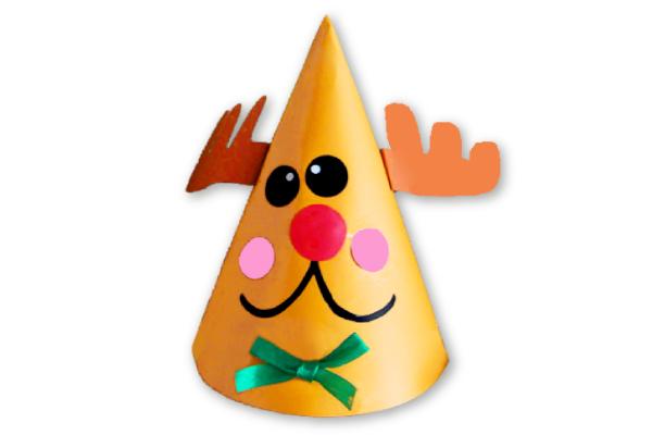 クリスマス帽子~トナカイ~(2歳児)