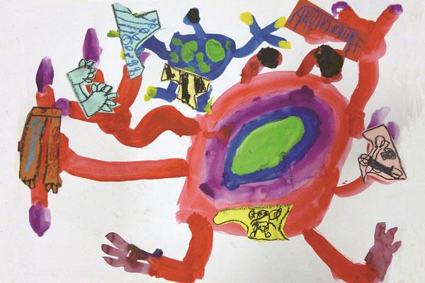 宇宙人は、パンツが大好き(5歳児)