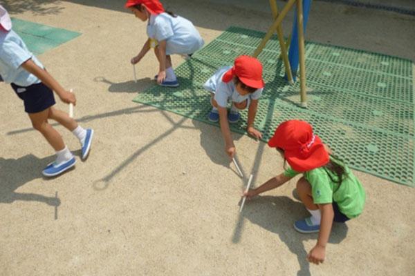 影遊び(5歳児)