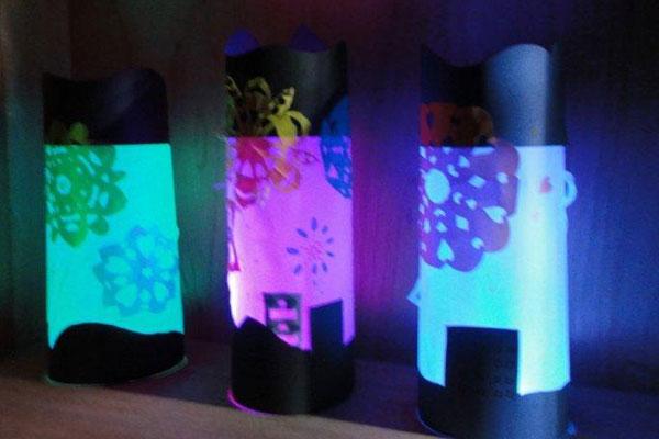 光のランプシェード(4,5歳児)