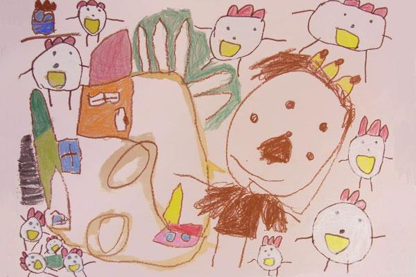 おしゃべりなたまごやき(4歳児)