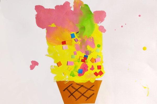 アイスクリーム (2歳児)