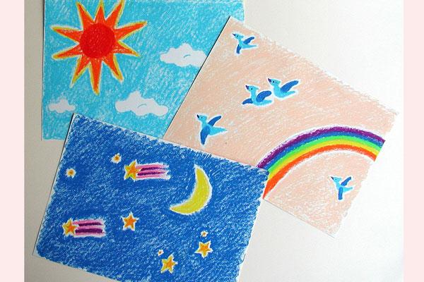 みんなで町づくり③信号・街路樹・空(4~5歳児)