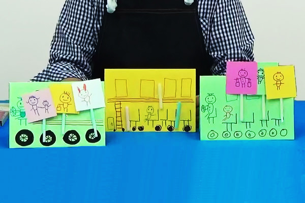楽しいお絵描きシリーズ③~ごっこ遊びを通してお絵描きを楽しむ~