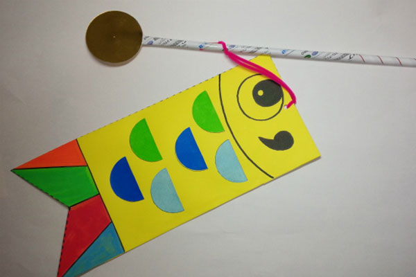 貼り絵のこいのぼり(5歳児)