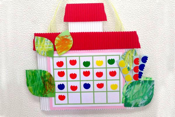 チューリップをかざろう(2歳児,3歳児,4歳児,5歳児)