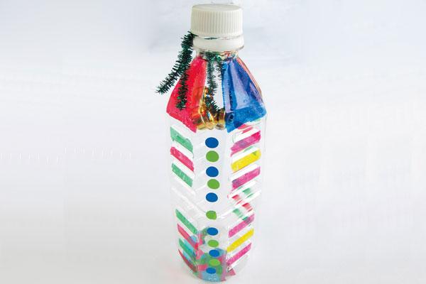オリジナルハンドベル①ペットボトル (2,3歳児)