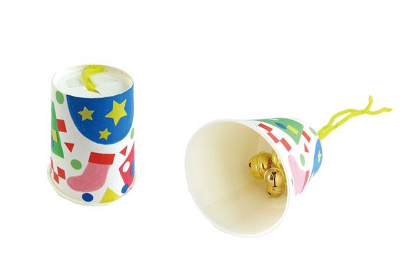 オリジナルハンドベル②紙コップ (2歳児,3歳児)