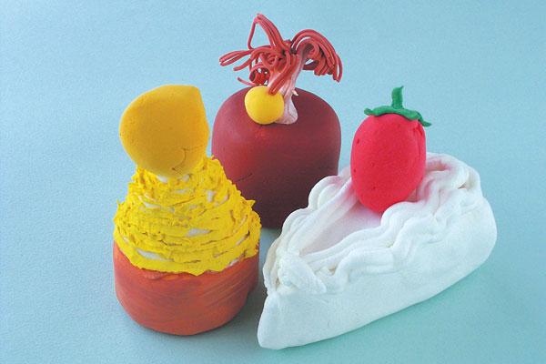 お祭りのお店屋さん「ケーキ」製作(4歳児,5歳児)