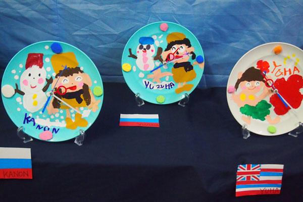 卒園記念作品製作「時計」 (5歳児)
