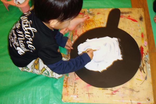 目玉焼きを焼こう(3歳児)