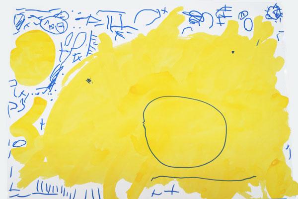 お話の絵「おひさまパン」(3歳児)