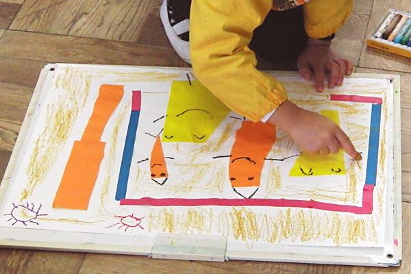 びりっと破って楽しい世界(3歳児,4歳児,5歳児)