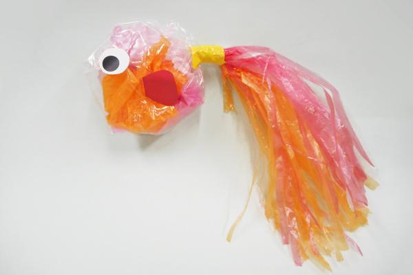 ふわふわ金魚ちゃん(3歳児)