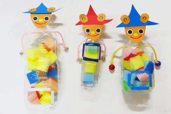 造形展「ぐりとぐら」(0歳児)