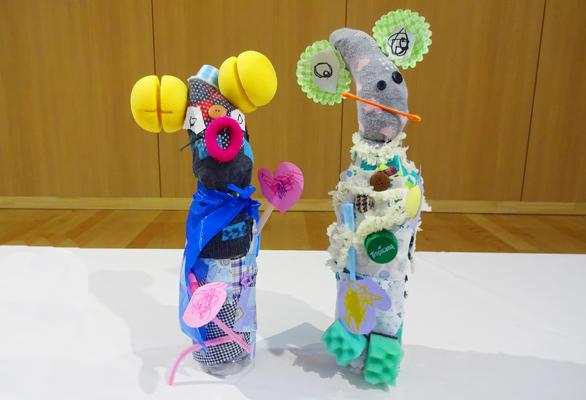造形展「ぐりとぐら」(2歳児)