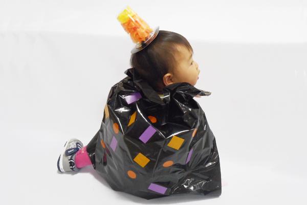 ハロウィンの仮装アイテム(0歳児)