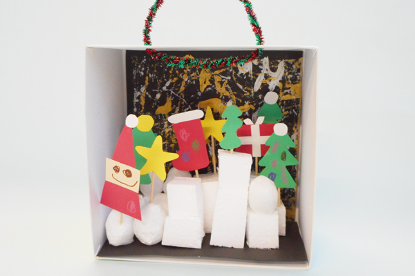 クリスマスのおうち (2歳児)