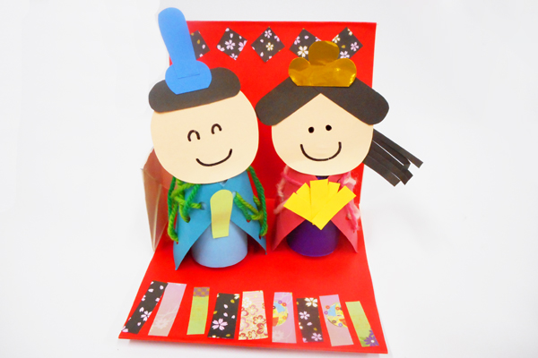 チクチク縫って♪おひなさま(5歳児)