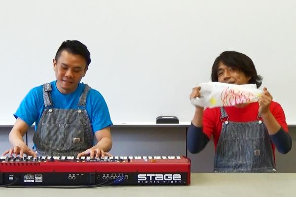 手づくり楽器で遊ぼう(1)リズム袋で遊ぼう!