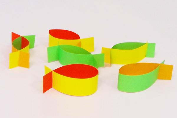 くるくる紙バンド(3歳児,4歳児,5歳児)