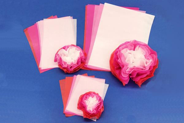 お花紙の使い方