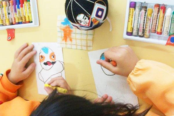 子どもが楽しむ年賀状(5歳児)