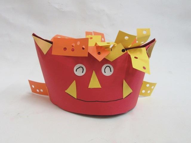 おにさん帽子(2歳児)